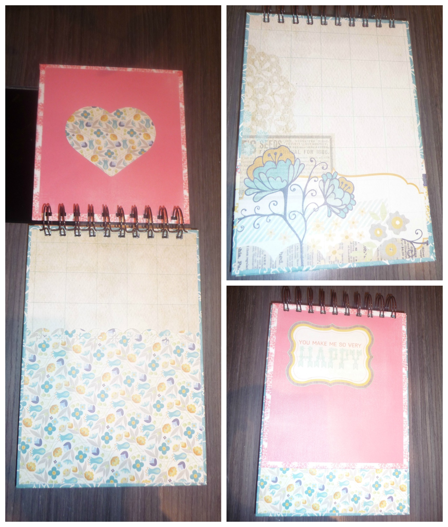 Libreta Gourjuss scrapbook interior