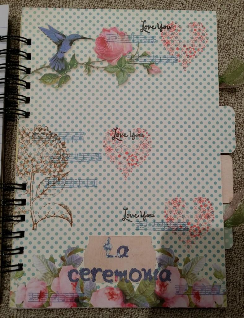 Agenda-de-boda-de-scrapbook LA CEREMONIA
