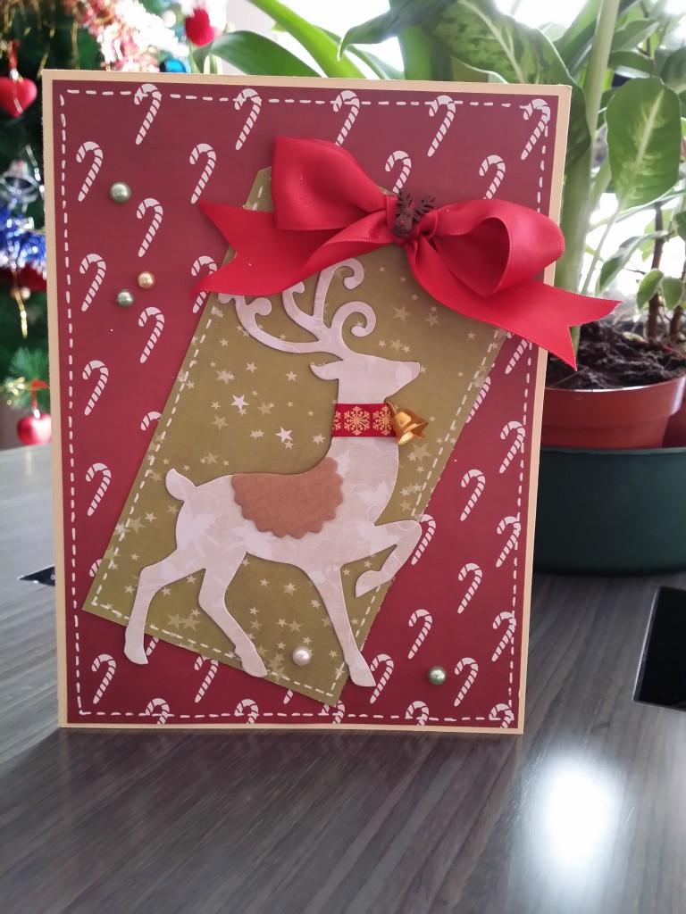 Targeta Scrapbook Navidad