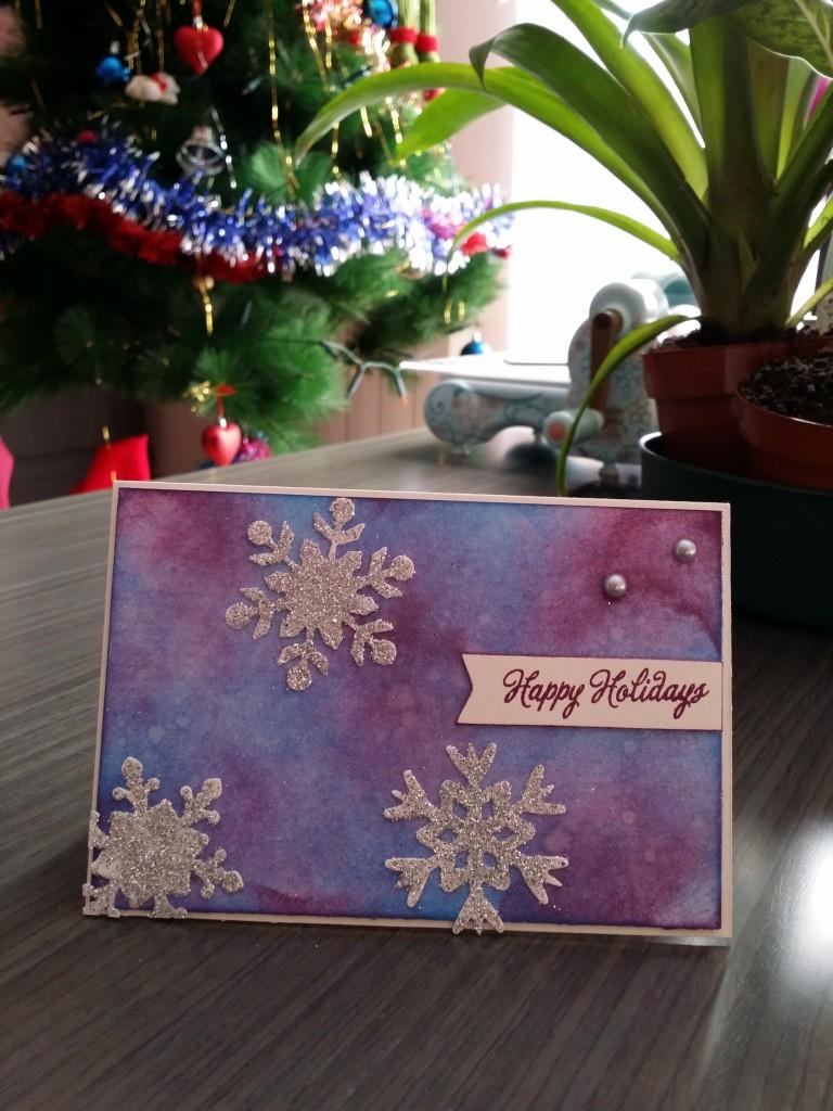 Targetas Navidad scrapbook