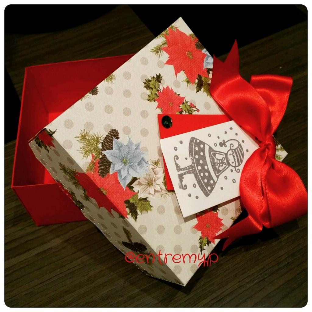 Caja Navidad scrapbook