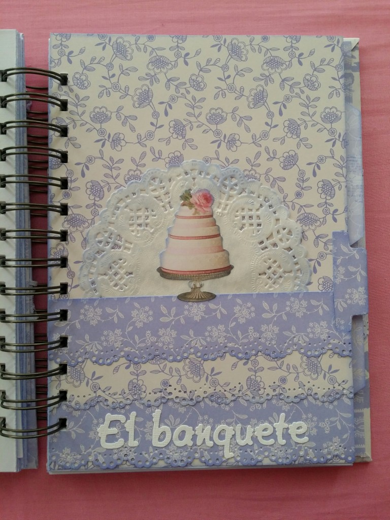 Agenda de boda scrapbook
