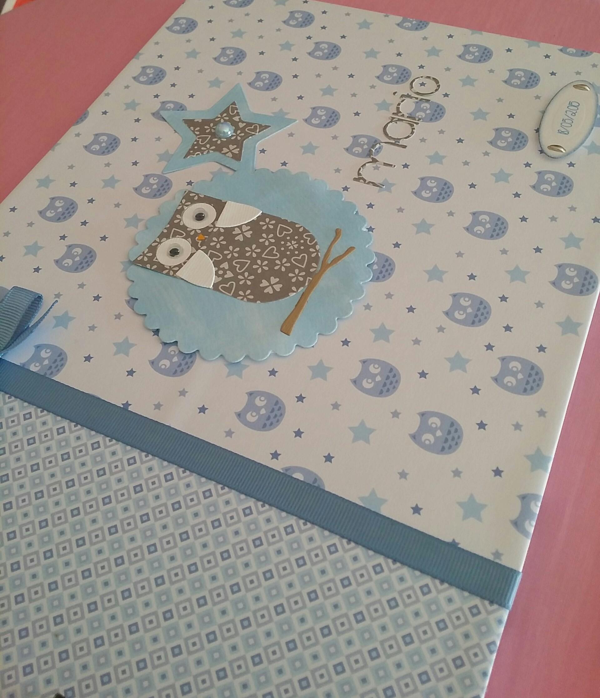 lbum scrapbook para mario entre mariposas y papeles. Black Bedroom Furniture Sets. Home Design Ideas
