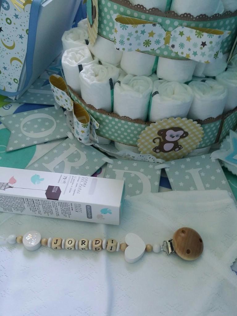 pastel de pañales scrapero