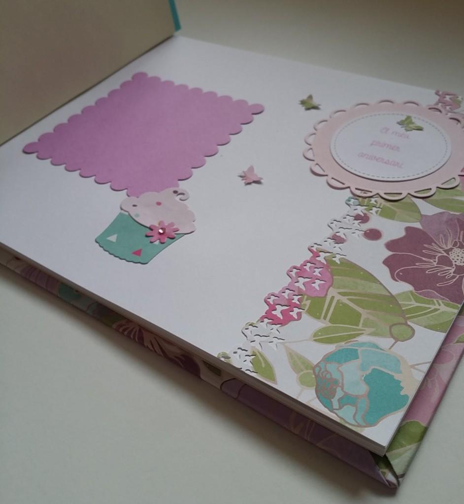 libro de firmas de scrapbook