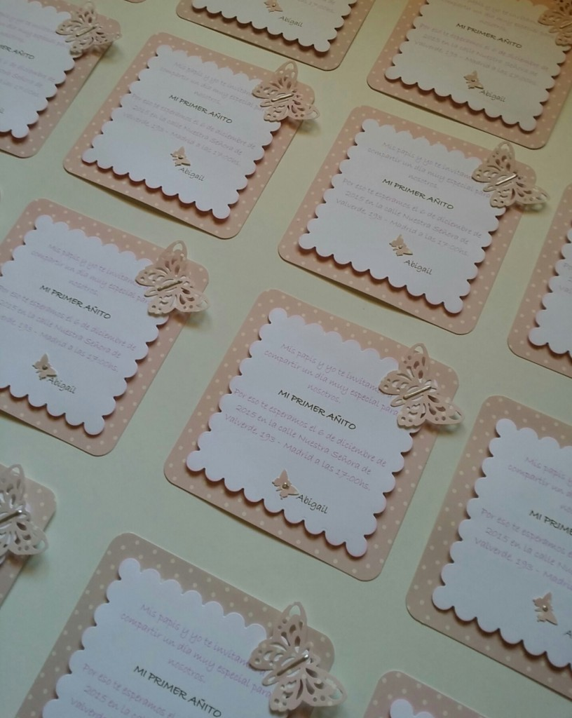 invitaciones scrapbook
