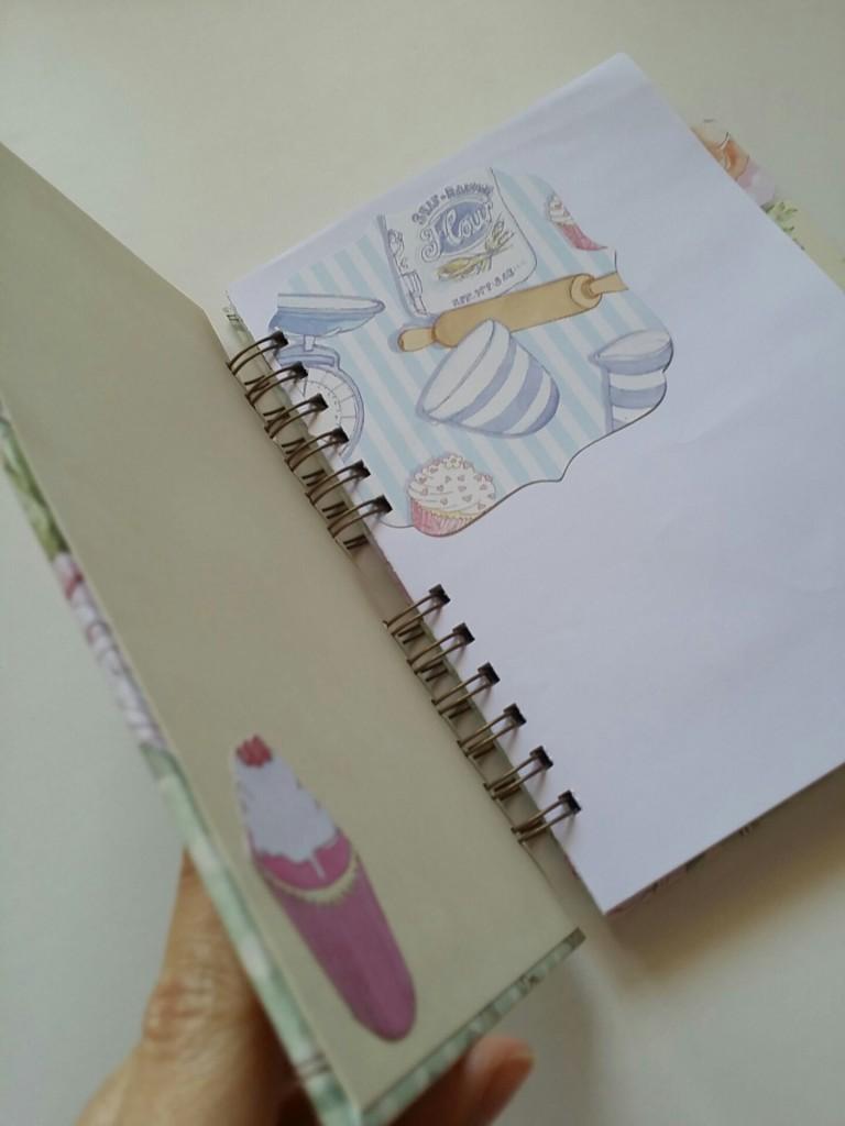 recetario scrapbook