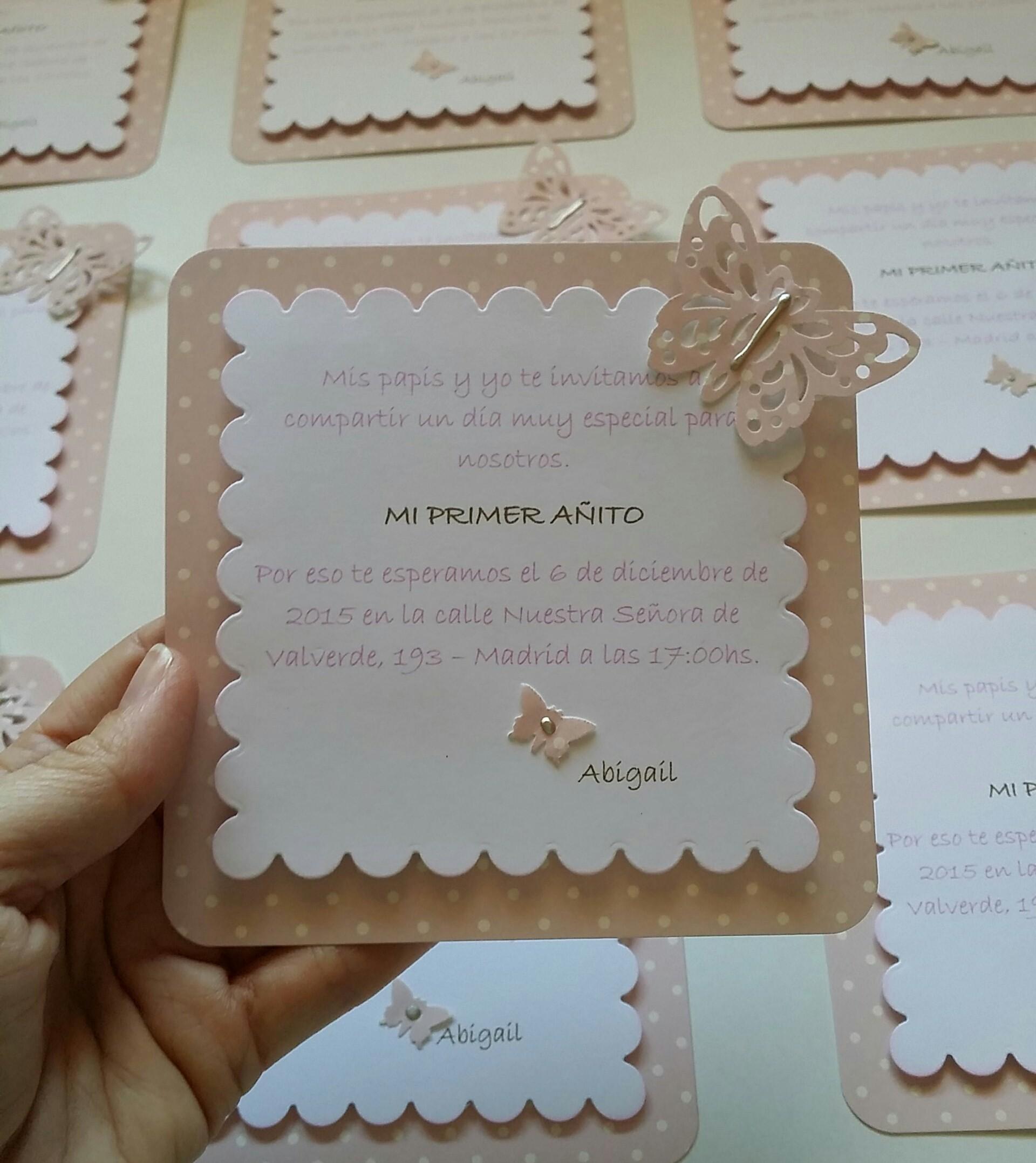 Invitaciones archives entre mariposas y papeles - Como hacer tarjetas para comunion ...