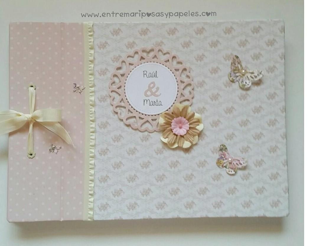 Libro de firmas para boda archives entre mariposas y papeles for Interior libro de firmas comunion