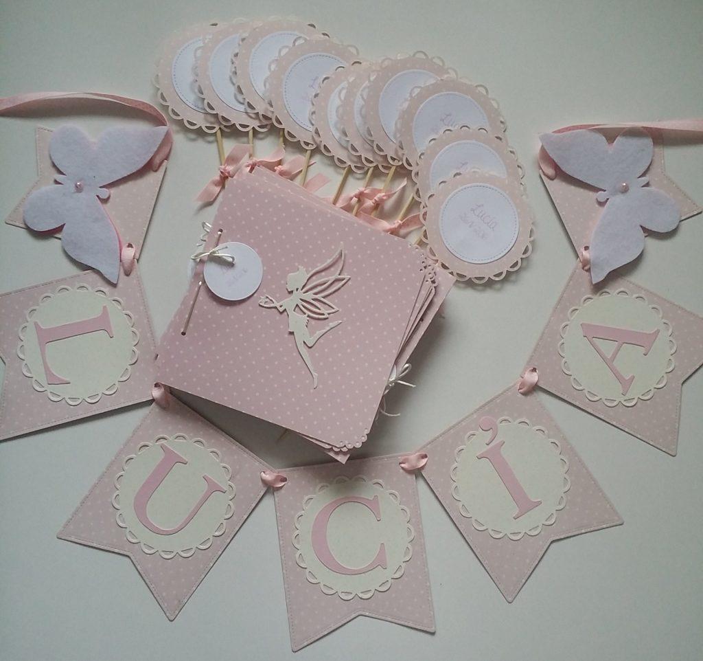 Guirnaldas de scrapbook y letras de luz personalizadas LUCIA