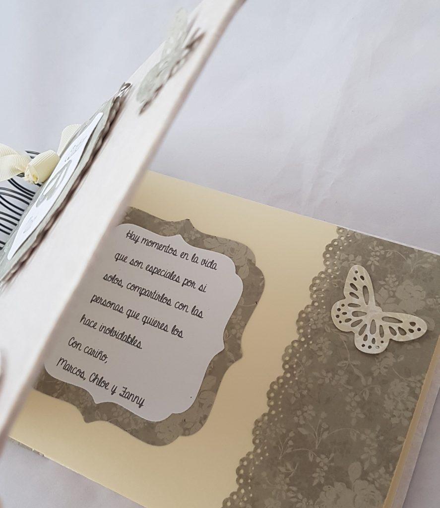 Libros de firmaspersonalizados de scrapbook